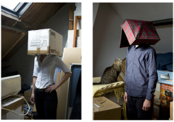 "Anonymous portraits of lovers for the weekly feature ""van 2 kanten"" (2006-2009)"