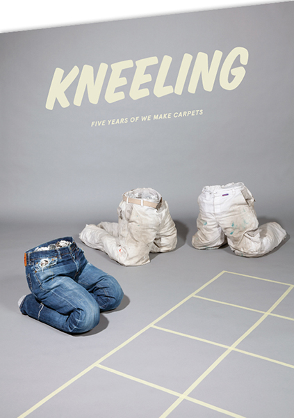 Invitation Kneeling-exhibition MU