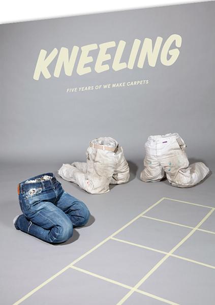 Invitation Kneeling-exhibition MU
